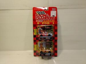 Racing Champions 1997 Ricky Rudd Sterling Marlin 2 Car Set 1:64 Scale Diecast