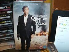 Quantum of Solace (DVD, 2009, 2-Disc Set, Box Set) JAMES BOND