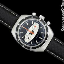"1968 BREITLING SPRINT Vintage Pilots ""Surfboard Panda Dial"" Chronograph - SS"