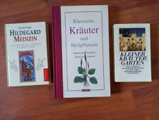 3 Bücher Kräuterkunde und Heilpflanzen