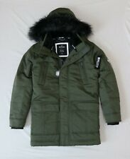 Hollister Men Down Blend Parka outerwear jacket Coat size Large new with tags