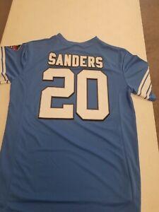 Detroit Lions Barry Sanders #20 Men's Majestic Hall Of Fame Jersey XL