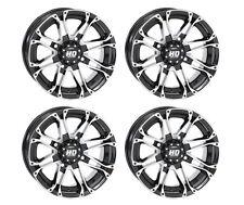 4 ATV/UTV Wheels Set 12in STI HD3 Machined 4/110 5+2/2+5 SRA