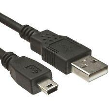 Cable Mini USB a USB NEGRO para Garmin Oregon 550t a430