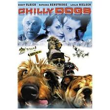 CHILLY DOGS , DVD DOG MOVIE Skeet Ulrich,Leslie Nielsen,Dog Sled Alaska. A145
