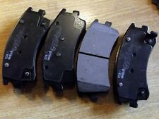 Front Brake pads, Mazda 6 2.0i 2.3i 2.0DT, GG GY, 02-07, 282mm discs, 4 pad set