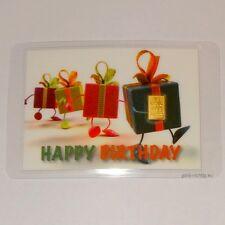 1 Gramm Goldbarren Geburtstag 1g Gold Barren Geburtstagsgeschenk Happy Birthday
