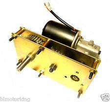 Makermotor High Torque 12V DC 5RPM Spit Smoker BBQ Pig Hog Rotisserie Gear Motor