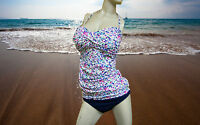 NWT GOTTEX PROFILE Spring Daisy 2pc BATHING SUIT SWIMSUIT Tankini SET 12