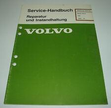 Werkstatthandbuch Volvo 340 Motor B172 / B 172 ab 1985!