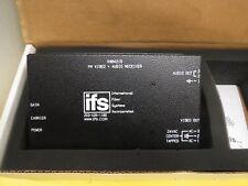 Ifs International Fiber Vat4210 Fm Xtmr Video & Audio Over Fiber Transmitter
