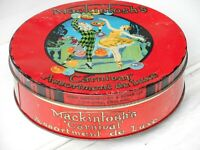 Mackintosh's  Carnival assortment de Luxe Toffee Tin circa 1930