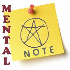 Mental Note Magic Trick - Digital Download (Mentalism Magic Trick)