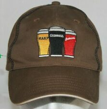 ffcde98944e Guinness Harp Smithwicks Embroidered Baseball Cap Hat Three Beers Strong