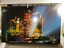 Revell 4911 Launch Tower & Space Shuttle & Booster Rockets Model Kit 1:144 F24