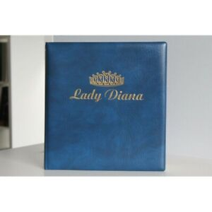 2 COLLECTIONS DE TIMBRES, THEMATIQUE DIANA, ALBUMS LINDNER