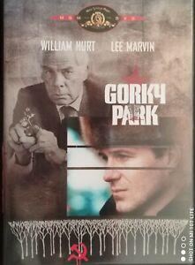 GORKY PARK  Michael Apted,William Hurt;Lee Marvin,1983 MGM 2003