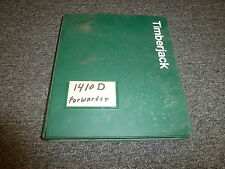 Timberjack 1410D Forwarder Skidder Logging Parts Catalog Manual Manual PC9246