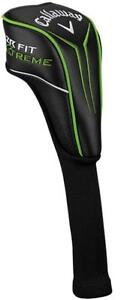 NEW CALLAWAY DRIVER HEAD COVER BLACK GREEN FREE DELIVERY