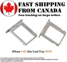 Replacement Sim Card Tray For iPhone 4 4G Sim Card Tray Silver New Internal Part