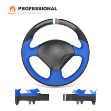 Suede Leather Car Steering Wheel Cover for Honda S2000 Civic Si Acura RSX Type-S