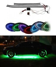 7 Color LED Under Car Glow Underbody Neon Lights With Remote new Free Shipping