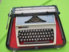 ERICA EAST GERMANY Cyrillic Typewriter Case,c tools,guide VTG GOOD CONDITION