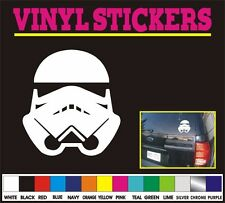 Storm Trooper star wars window vinyl sticker decal car truck jdm funny