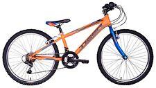 Tiger Warrior 24' RUEDA Junior Bicicleta de montaña naranja azul
