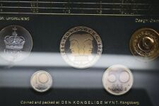 Norway 1986 coin set stunning set with amazing toning and perfect coins!!