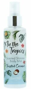Barry M In The Tropics Scented Shimmer Body Mist Spray Twisted Coconut  - 90ml