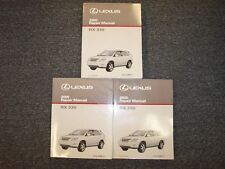 2005 Lexus RX330 Crossover Workshop Shop Service Repair Manual Book Set 3.3L V6