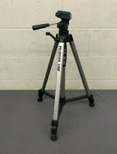 "Hakuba S-4500 Folding 62"" Tripod with Quick Release Pan/Tilt Head EXCELLENT"