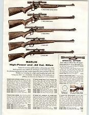 1960 PAPER AD Marlin M336 Mossberg Shotgun Palomino 20 Shot Rifle Gun