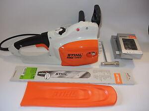 xx Stihl MSE 170 C-Q Motorsäge Elektrosäge + Schwert +  Sägekette MSE170