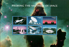 2000 WORLD STAMP EXPO, PROBING THE VASTNESS OF SPACE SHEETLET 3409, $15