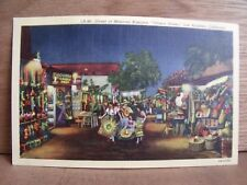 1930-40s America Postcard Olvera Street Los Angeles California Free UK Post