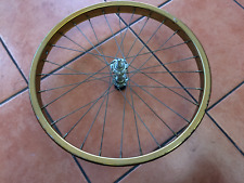 BMX FRONT STEEL GOLD COLOURED WHEEL