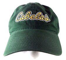 Cabela's Logo Hunter Green Adjustable Hat / Cap Outdoors Sports Fishing Hunting