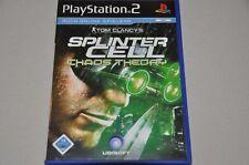 Playstation 2 Spiel - Splinter Cell - Tom Clancy - komplett Deutsch PS2 OVP