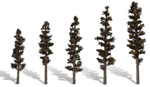 """Multi Scale - STANDING TIMBER - Package of  5 - 2-1/""""-4"""" HIGH - WOO-TR3560"""
