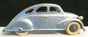 Vintage Tootsietoy Car #716 Silver Doodlebug Mfg 1935-1937 Nice Condition