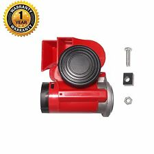 New Motorcycle/Car 12V Snail Compact Dual Tone Electric Pump Air Horn BALD813