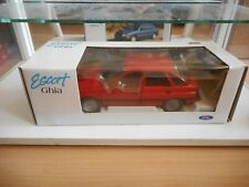 Schabak FOrd Escort in Red on 1:25 in Box