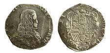 pcc1837_14) MILANO - CARLO II (1676 – 1700) FILIPPO 1676 MIR. 387/1 AG