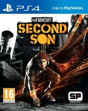 jeux ps4, infamous second son