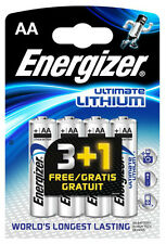 12x Energizer Ultimate Litio Batterie AA mn1500 lr6 MIGNON-OVP-Nuovo