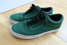 READ Vintage Vans -  Size 9 Classic Leather -  Fern Green -