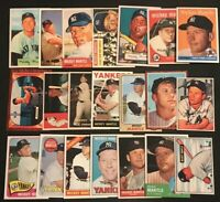 MICKEY MANTLE 21 Card Base Set. 1951-1969. Main Card From Each Year He Played RP