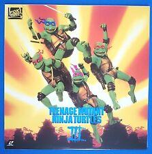 Japanese Laser Disc Teenage Mutant Ninja Turtles III /166